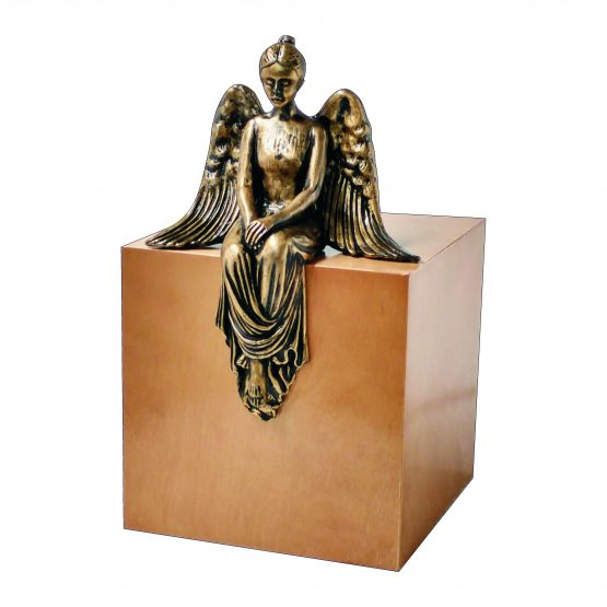Contemplating Angel Artistic Cremation Urn