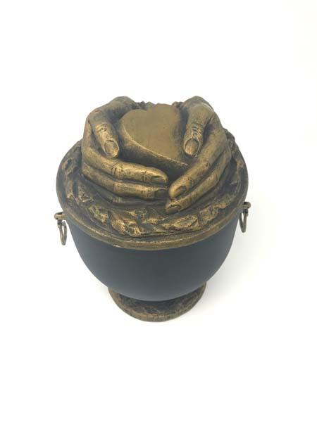 Comforting Hands Composite Urn