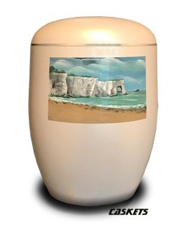 Artistic Bio Urn For Ashes