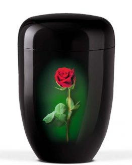 Black funeral Urn For Ashes