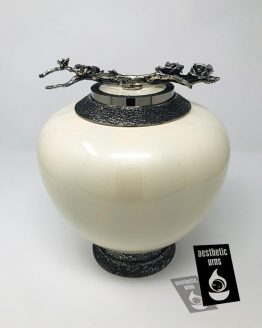 Elegant Glass Urn for Adults