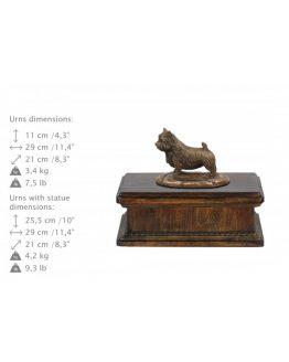 Norfolk Terrier Pet Urn