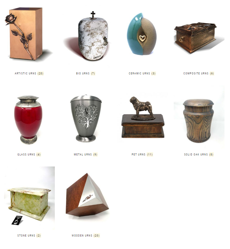 Cremation Urn Shop