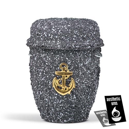Sea Urn for Ashes with Anchor