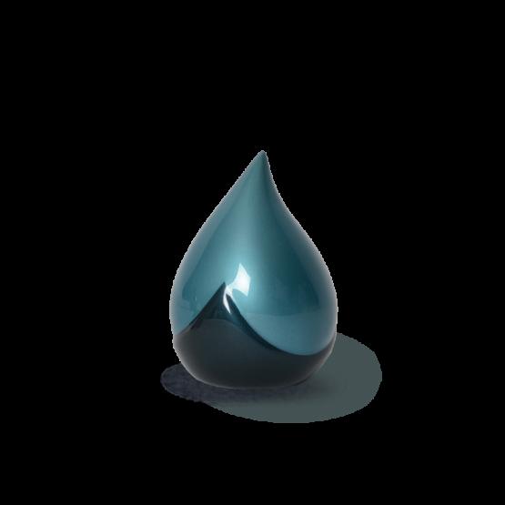 Keepsake Teardrop Mini Urn Blue