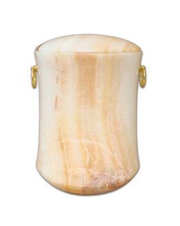 Stone Cremation Urn for Ashes Sand
