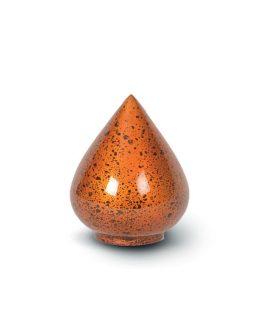 Resin Keepsake Mini Urn Token Red Heart