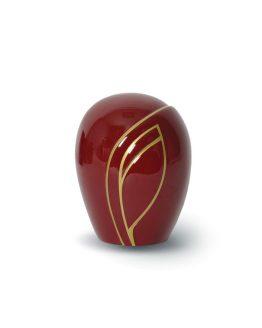 Keepsake Mini Urn fibreglass Red