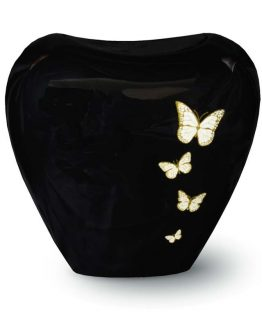 Fibreglass Cremation Urn for Ashes Resin Butterfly