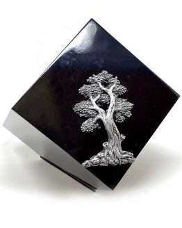 Modern Geometric Urn for Ashes Tree of Life