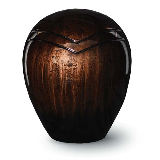 Resin Cremation Urn for Ashes Cacao colour