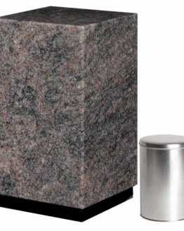 Granite Cremation Ashes Urn Adult Himalayan Blue