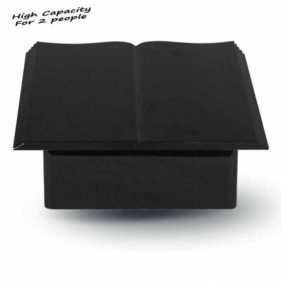 Outdoor Granite Cremation Adult Urn Open Book
