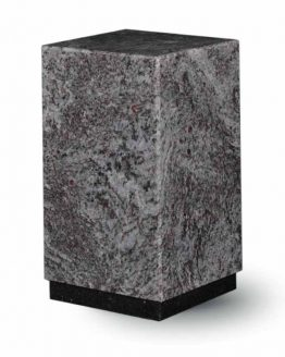 Granite Cremation Ashes Urn Adult Mass Blue