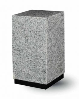 Granite Cremation Ashes Urn Adult Grey