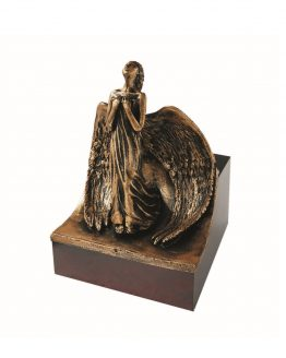 Angel Cremation Urn For Ashes Large Decor Bronze