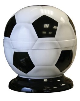Steel Football Shape Cremation Urn for Ashes