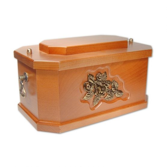 Solid Wood Classic Ashes Casket Light