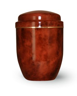 Aluminium Cremation Urn Brown