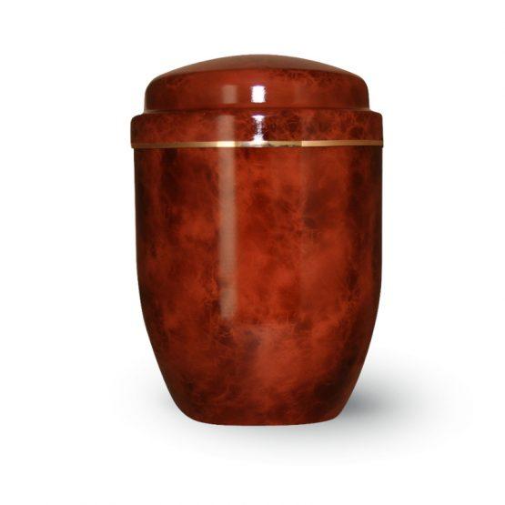 Aluminium Cremation Urn Brown