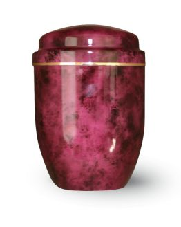 Aluminium Cremation Urn Pink