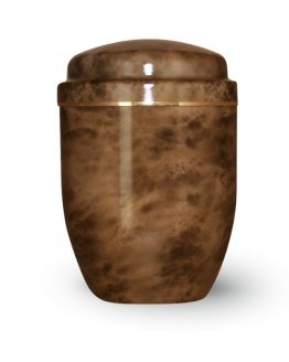 Aluminium Cremation Urn Bronze