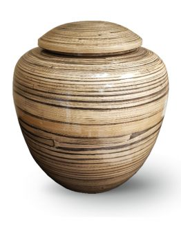 Bamboo Wood Cremation Urn for Ashes