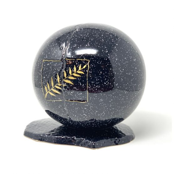 Exclusive Ceramic Cremation Ashes Urn Planet